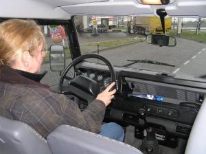 Land Rover Defender 110 TD5 rijtest
