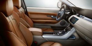Land Rover Evoque interieur