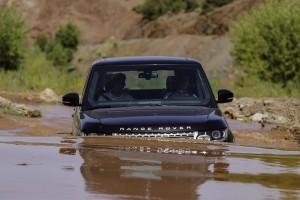 Range Rover doorwading Marokko