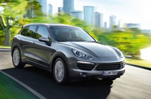 Porsche  Cayenne S diesel rijdend