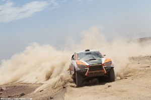 HRX Ford Dakar 2013 - Van Loon