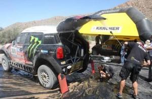 Kärcher tijdens de Dakar