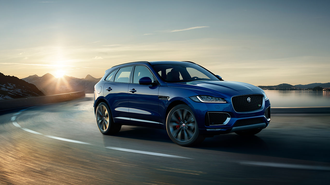 F-PACE: eerste Jaguar SUV
