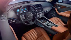 Jaguar F-PACE interieur