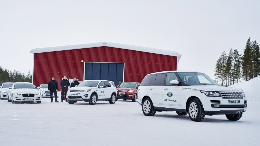 Jaguar Land Rover opent Ice Drive Academy