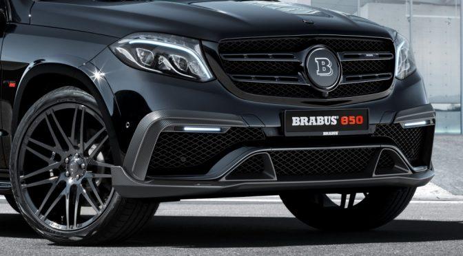 BRABUS 850 XL op basis Mercedes-Benz GLS