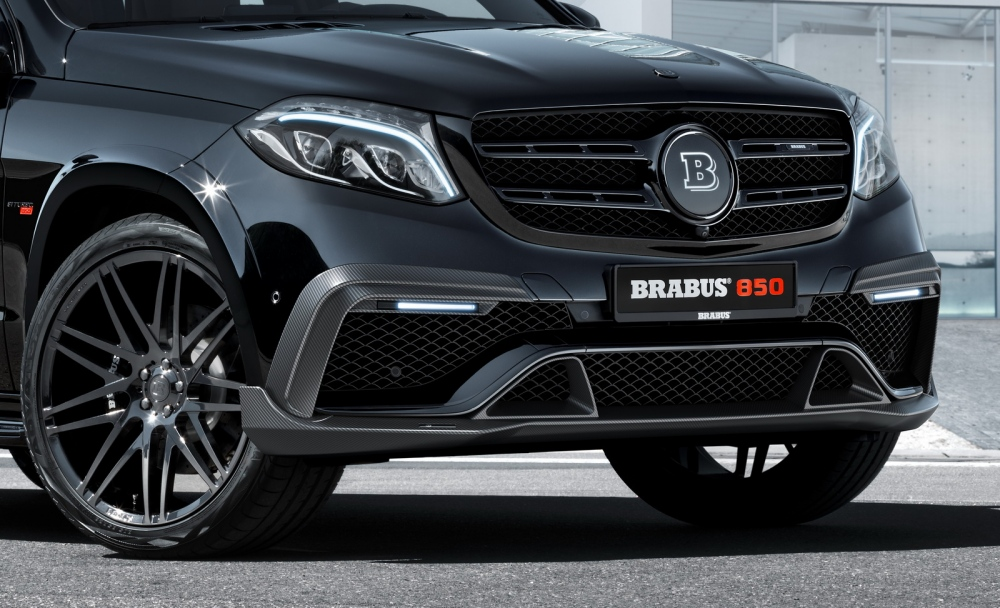 BRABUS 850 XL op basis Mercedes-Benz GLS