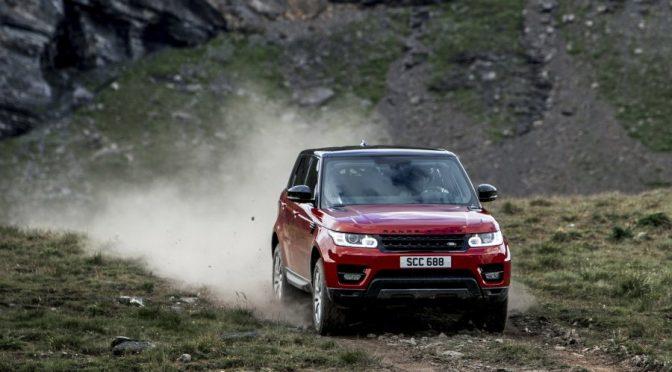 Range Rover Sport bedwingt legendarische afdaling