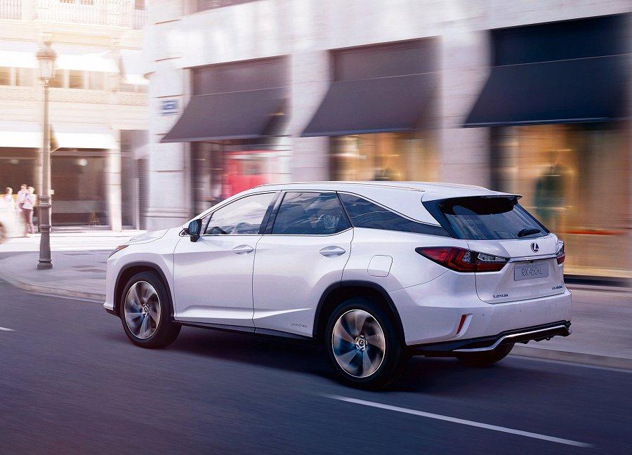 Lexus RX 450hL: comfort voor 7