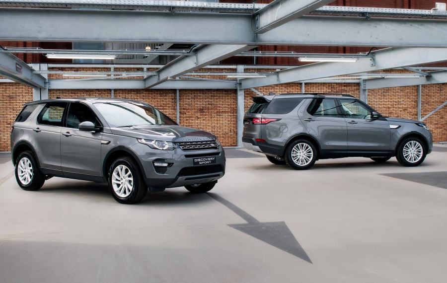 Land Rover Discovery en Discovery Sport Commercial