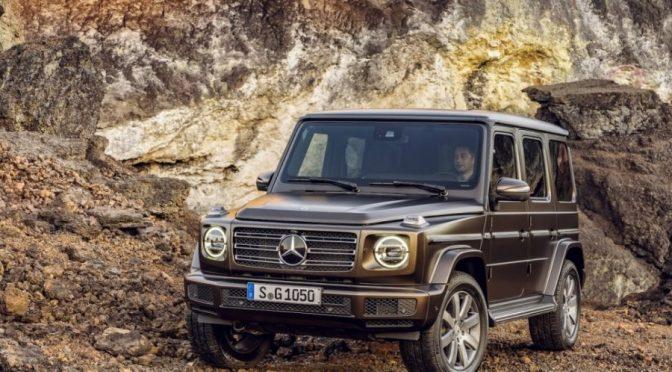 Nieuwe Mercedes-Benz G-klasse
