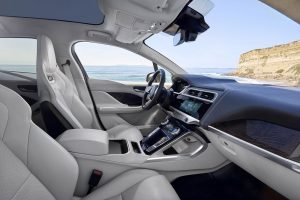 Jaguar I-PACE elektrisch interieur