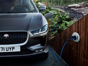 Jaguar I-PACE elektrisch opladen bereik