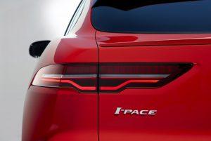 Jaguar I-PACE elektrisch logo
