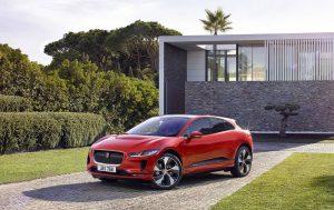 Jaguar I-PACE elektrisch voorkant