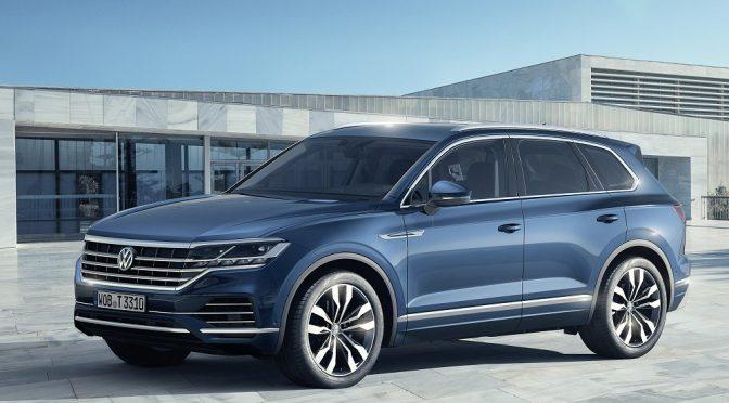 Volkswagen presenteert nieuwe Touareg