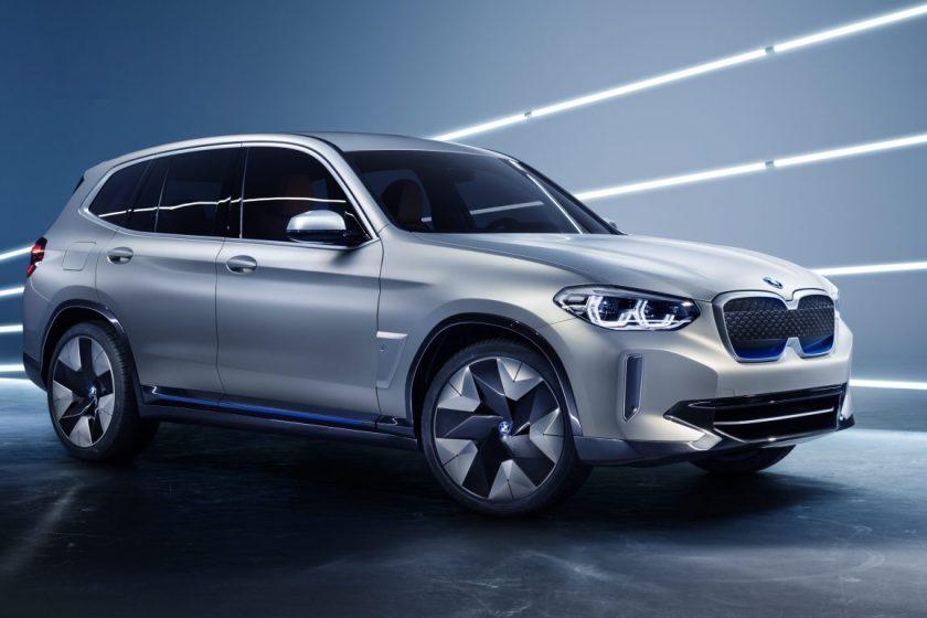 BMW iX3: lancering van de elektrische X3 in 2020